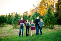 Carter Family Xmas Tree Session 2016 Proofing